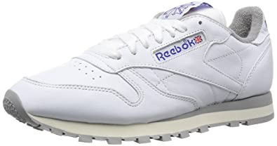 fbaef70d2c1 Reebok Classics Men s Classic Leather R12 Trainers UK 7 White