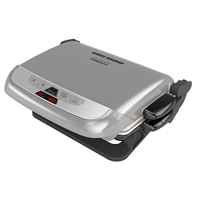 George Foreman GRP4842P Multiple Plate Evolve Grill – The Best Versatile Grill for Multiple Purpose Use
