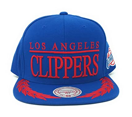 Amazon.com  Mitchell N Ness Los Angeles Clippers Black Laurels ... 35e5345c788