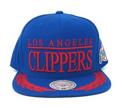 Amazon.com  Mitchell N Ness Los Angeles Clippers Black Laurels ... 7de55f90902
