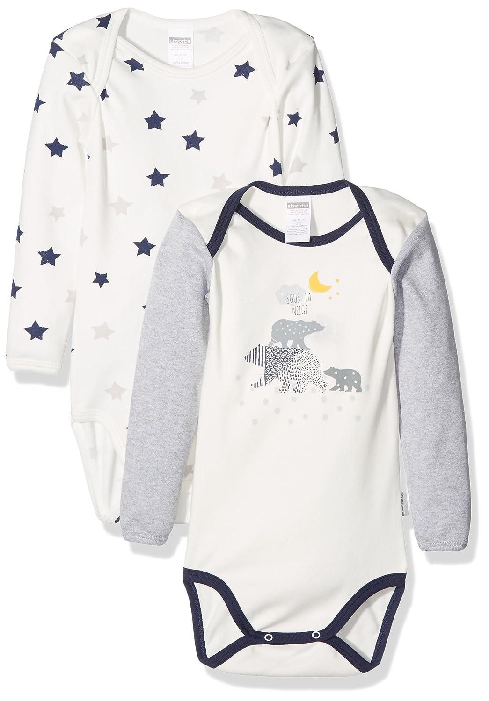 Absorba Baby Boys' Body Bodysuit Pack of 2 Absorba Underwear 6K60166-RA