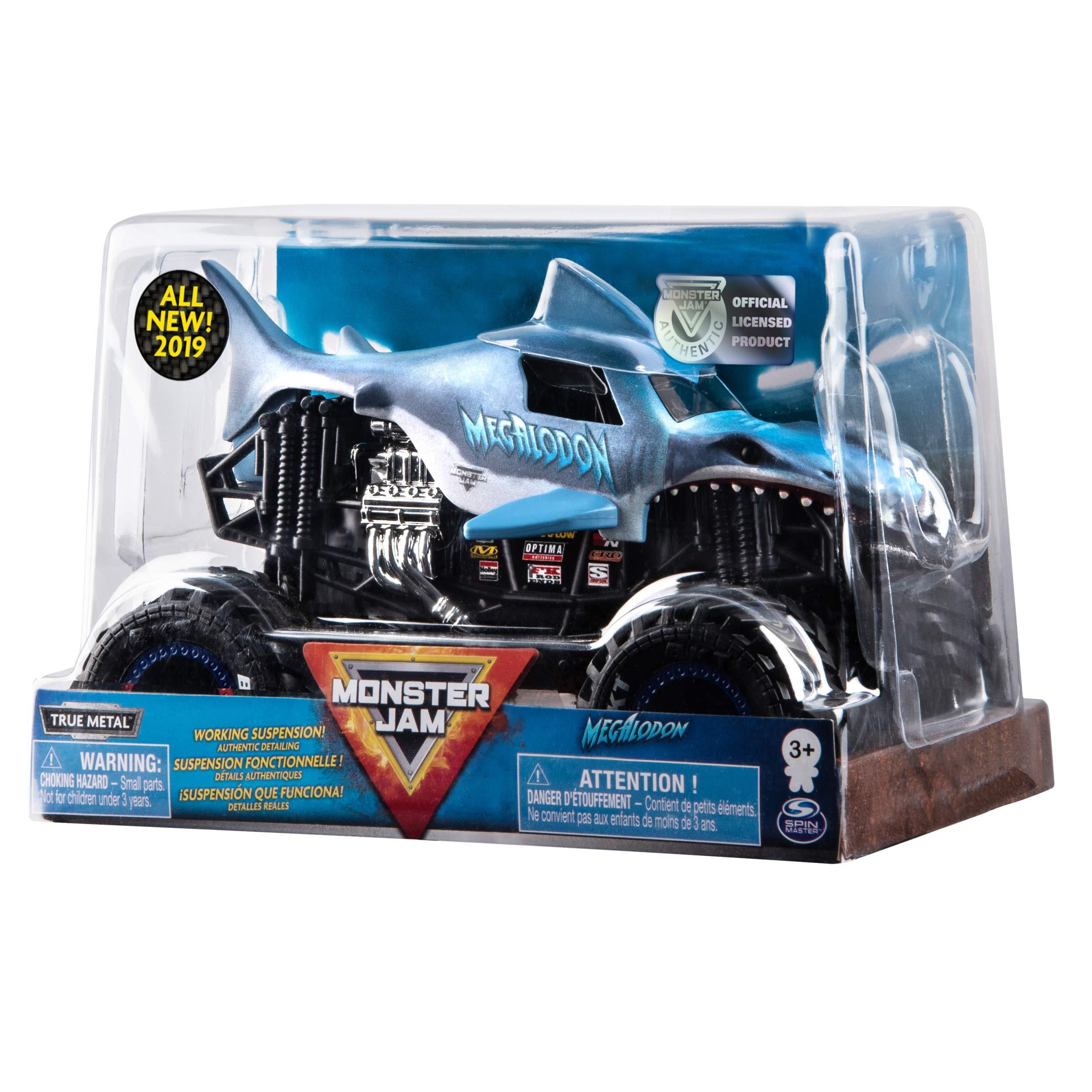 Monster Jam Official Megladon Monster Truck, Die-Cast Vehicle 1:24 Scale by Monster Jam (Image #5)