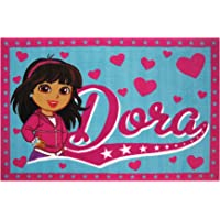 Deals on Dora the Explorer 19-inch x 29-inch  Area Rug