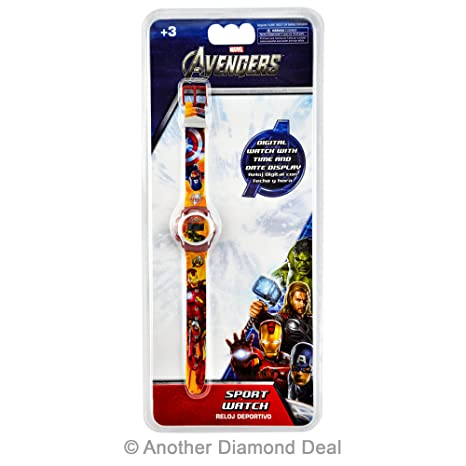 Kids Avengers - Reloj Digital MV10031