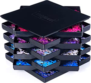 8 Puzzle Sorting Trays with Lid 8