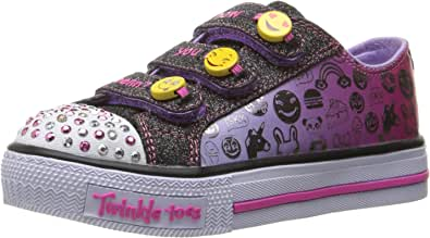 Skechers Girl's Chit Chat Street Beat Trainers