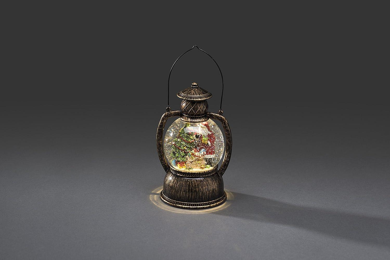 Konstsmide 3497-000 Lanterne Boule /à LED P/ère No/ël 0.3 W Blanc Verre//,