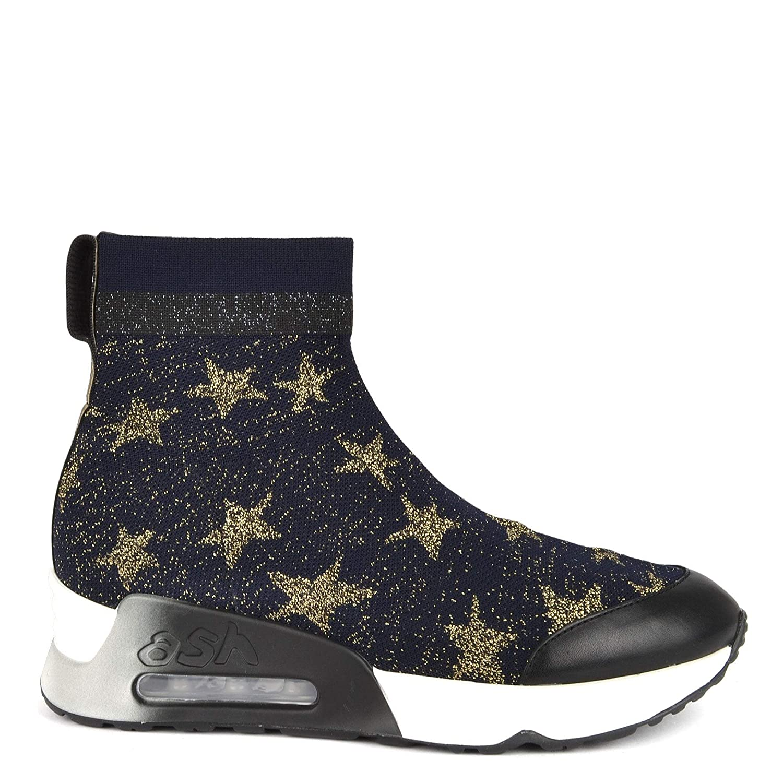 ASH Footwear Lulla Star Schuhe blau und und und Gold Frauen c8e4e0