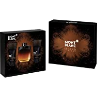Legend Night by Mont Blanc for Men - Assorted Fragrances, 3 Count