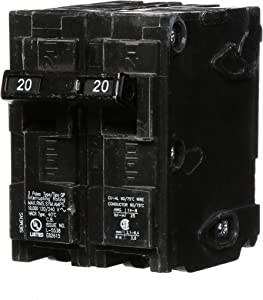 Q220 20-Amp Double Pole Type QP Circuit Breaker