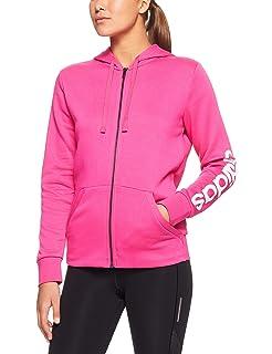 59165d925d adidas Women s Essentials Linear Full Zip Fleece Jacket