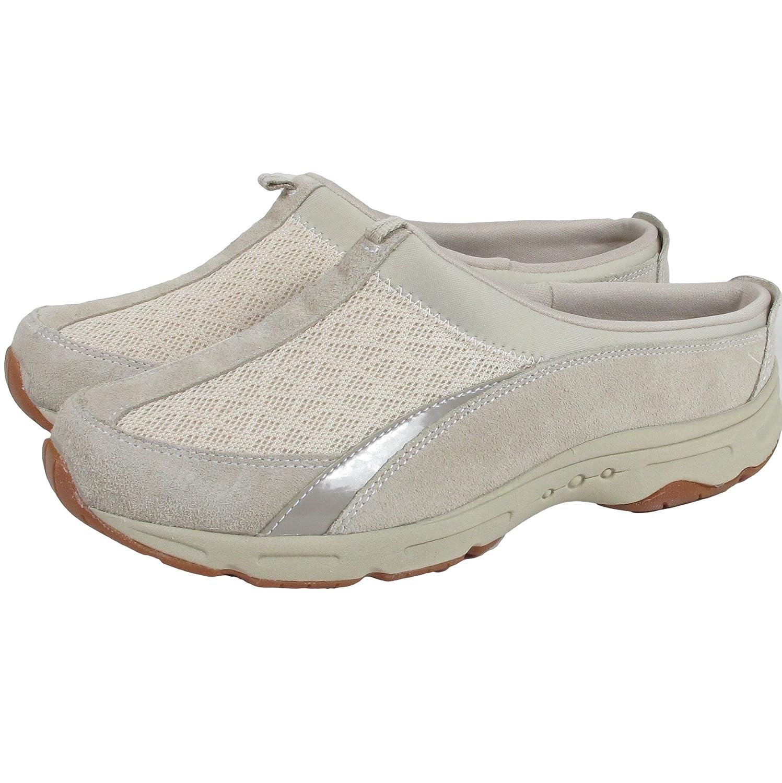 Easy Spirit Womens All In Time Mule Sneaker 8 Ivory