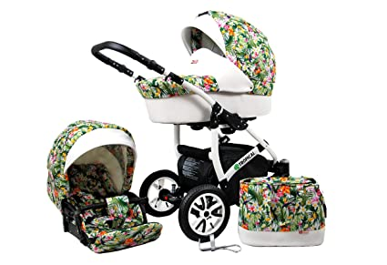 2 en 1 Tropical, Combi Buggy para cochecito de bebé Cochecito ...
