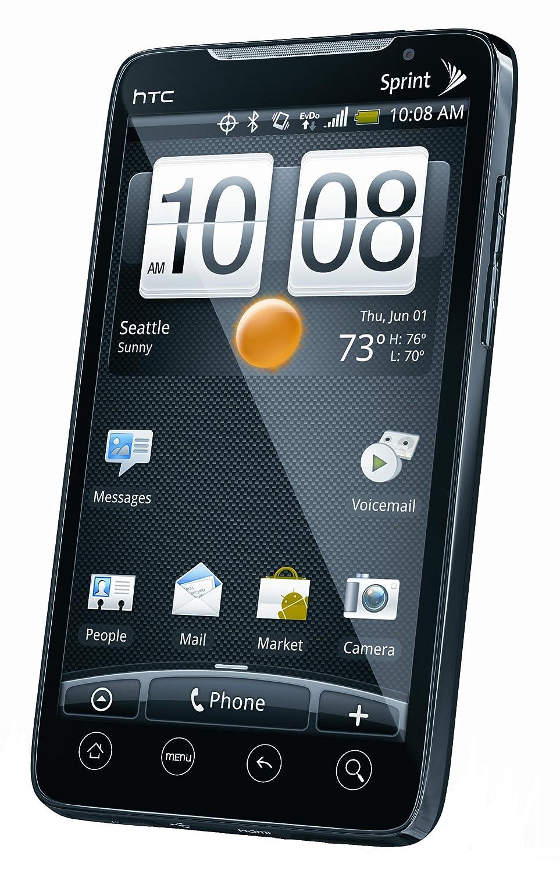 amazon com htc evo black sprint cell phones u0026 accessories