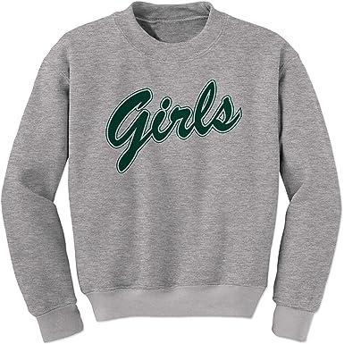 fecb87c0fced Amazon.com  FerociTees Girls Shirt from Friends (Green) Crewneck ...