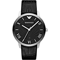 Emporio Armani End-of-Season Analog Black Dial Men's Watch - AR1611