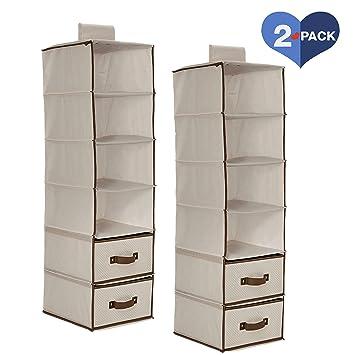 Amazon Com Delta Children 6 Shelf Hanging Closet Organizer With