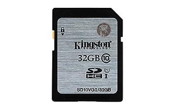 Kingston - Tarjeta de Memoria 32GB Clase SDHC para Cámara ...