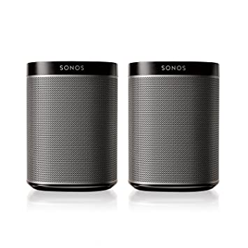 Sidste nye Amazon.com: Sonos PLAY:1 2-Room Wireless Smart Speakers for AW-24
