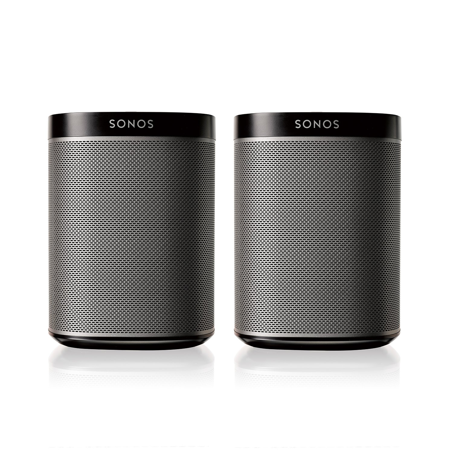 Sonos PLAY:1 2-Room Wireless Smart Speakersfor Streaming Music - Starter Set Bundle (Black) by Sonos