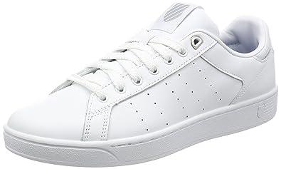 f7c010243cb Amazon.com | K-Swiss Men's Clean Court Fashion Sneaker | Fashion ...
