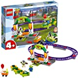 LEGO   Disney Pixar's Toy Story 4 Carnival Thrill Coaster 10771 Building Kit, New 2019 (98 Pieces)