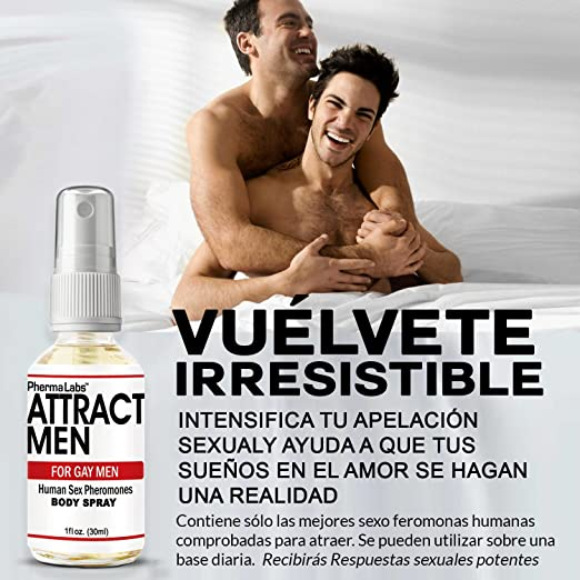 Amazon.com : Gay Feromonas Body Spray para Hombre - 1 oz - Atraer Hombres instantáneamente- Mayor Concentración De Feromonas Posible- Aumenta El libido- y ...