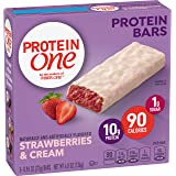 Protein One 90 Calorie Protein Bar, Strawberries & Cream, 4.8 Ounce (5 Count)