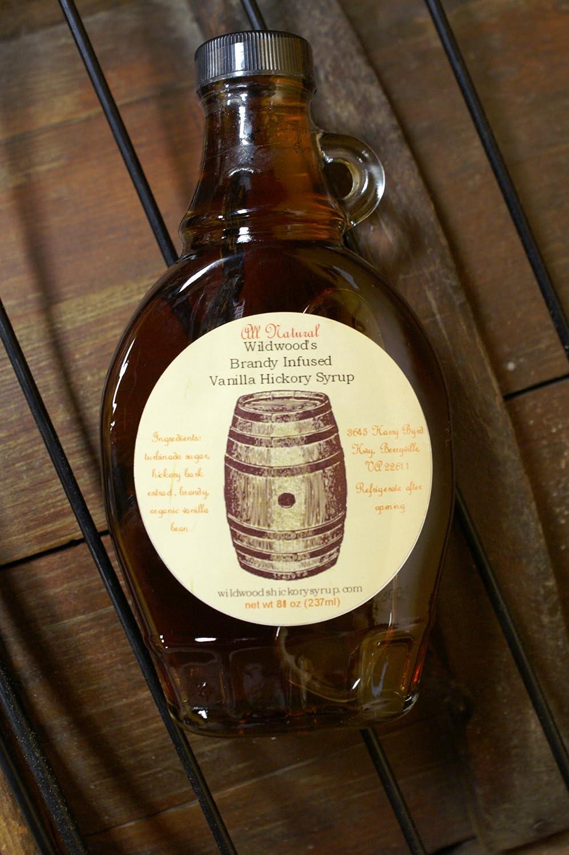 amazon com wildwood s hickory brandy vanilla syrup 2 pack 2 jars