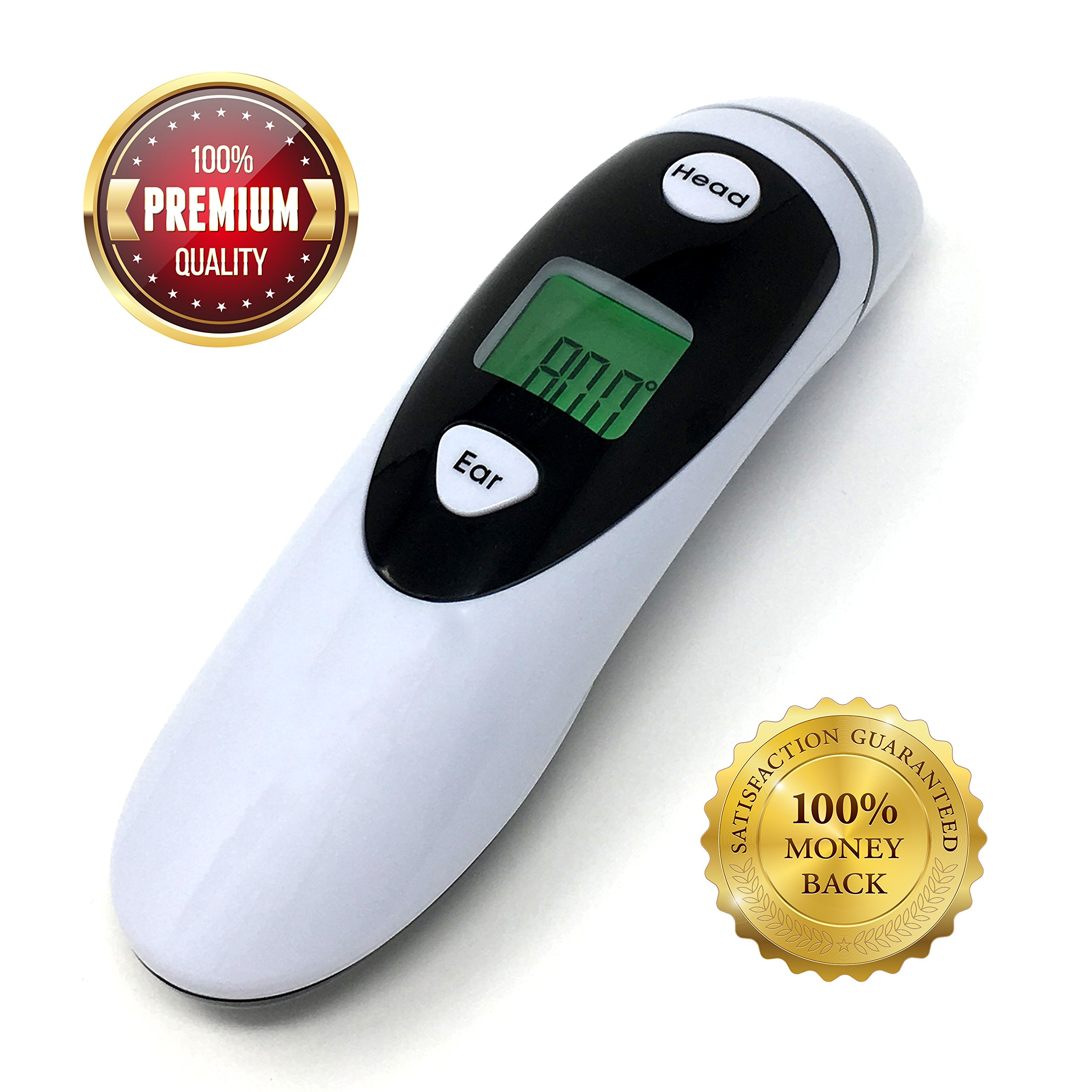 Champion IR - Medical Ear Thermometer With Forehead Function - Infared Technology & LCD Screen For Improved Accuracy by Champion IR (Image #8)