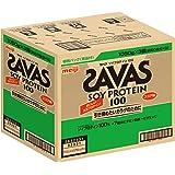 【Amazon.co.jp 限定】ザバス(SAVAS) ソイプロテイン100 ココア味 【150食分】 3,150g (景品付き)