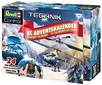 Revell Weihnachtskalender.Revell 01020 Advent Calendar Rc Heli 2018 Multi Colour Amazon Co