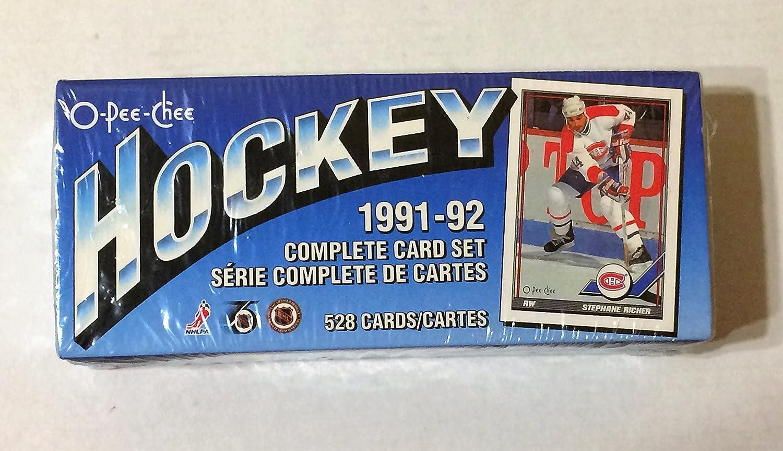 1991 O-Pee-Chee Hockey Trading Cards Set