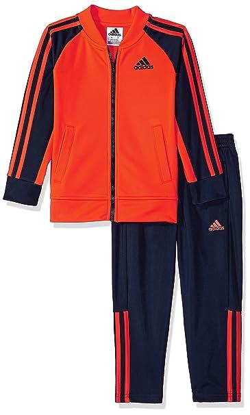 adidas Jungen Trikot Jacke und Hose Set: Kleidung