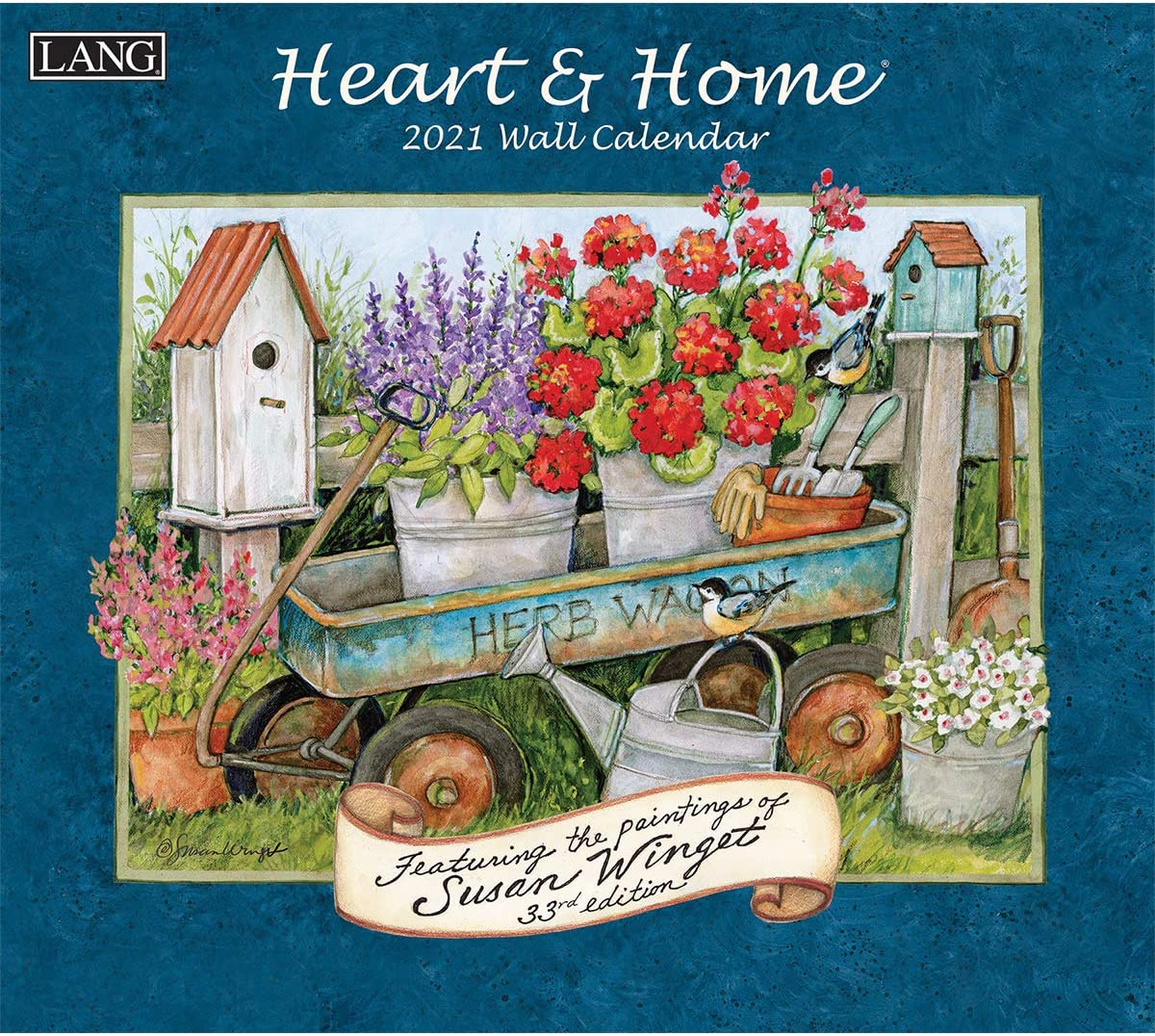 Amazon.: Lang Heart & Home 2021 Wall Calendar (21991001913