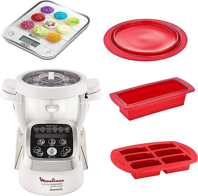 Robot de cocina de Moulinex, HF802AA1.: Amazon.es: Hogar