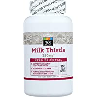 365 Everyday Value, Herb Milk Thistle, 180 Count