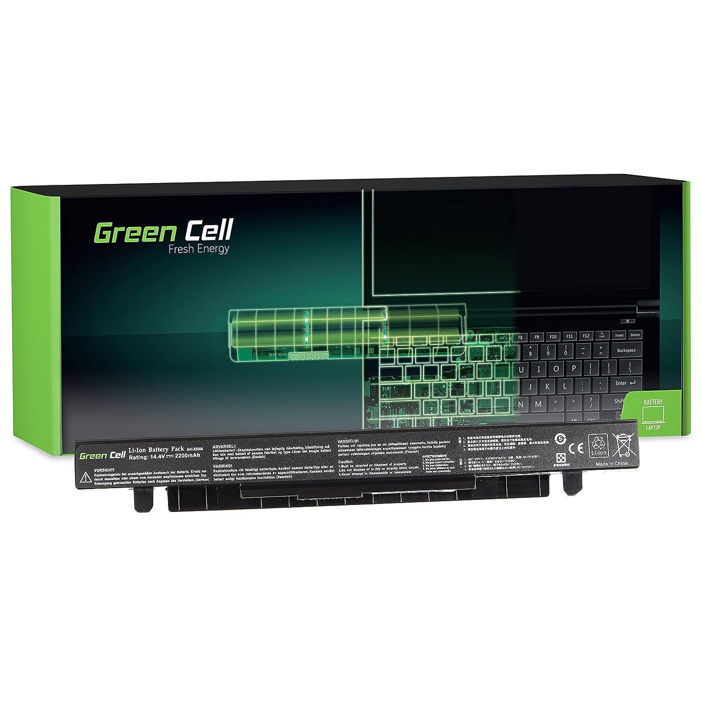 Green Cell® Standard Serie Batería para ASUS X552C Ordenador (4 Celdas 2200mAh 14.4V Negro)