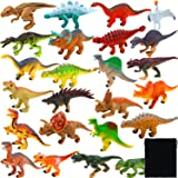 Action Figures Toys & Hobbies 18 Toy Dinosaurs In Tub With Dinosaur Playmat