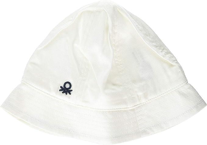 United Colors of Benetton Hat Gorra Bebe, Blanco (Bianco 901 ...