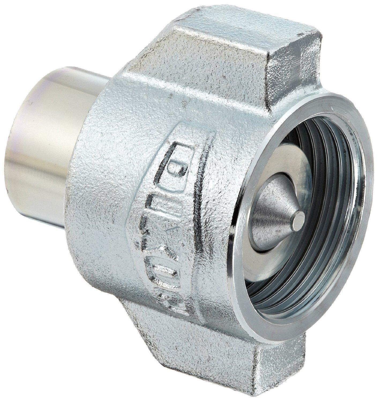 Dixon 8WSF8 Steel Hydraulic Fitting, High Pressure Coupler, 1'' Coupling x 1''-11-1/2 NPTF