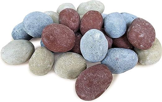 PURLINE WINCBTOUT-08 Piedras decorativas material cer/ámico de varios colores 24 unidades