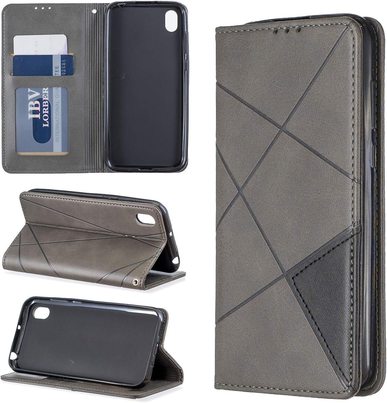 Blau Huphant Compatible for Huawei Y5 2019 H/ülle Klapph/ülle Huawei Y5 2019 Handyh/ülle Flip Leder Cover Kartenfach mit Standfunktion Magnetverschluss Wallet Case f/ür Huawei Y5 2019
