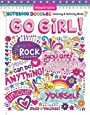Notebook Doodles Go Girl!: Coloring & Activity Book (Design Originals) (30 Inspiring Designs; Beginner-Friendly Empowering Art Activities for Tweens, on High-Quality Extra-Thick Perforated Paper)