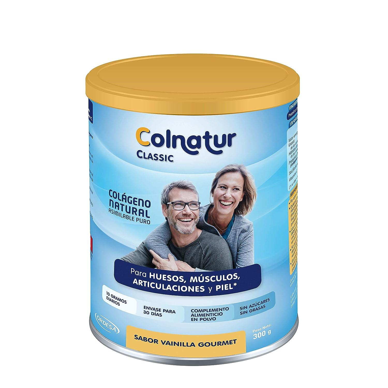 COLNATUR - COLNATUR CLASSIC VAINILLA 300g COLNATUR: Amazon.es: Salud y cuidado personal