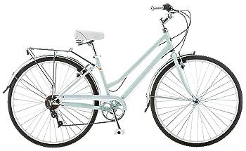 Schwinn Wayfarer Bike Men's and Women's Hybrid Retro-Styled Cruiser, 7-Speed