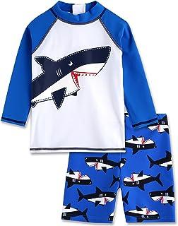 Vaenait baby 2T-7T Kids Boys Rashguard Swimsuit Bathing Suit Swimwear Sets Toddler BSW/_044