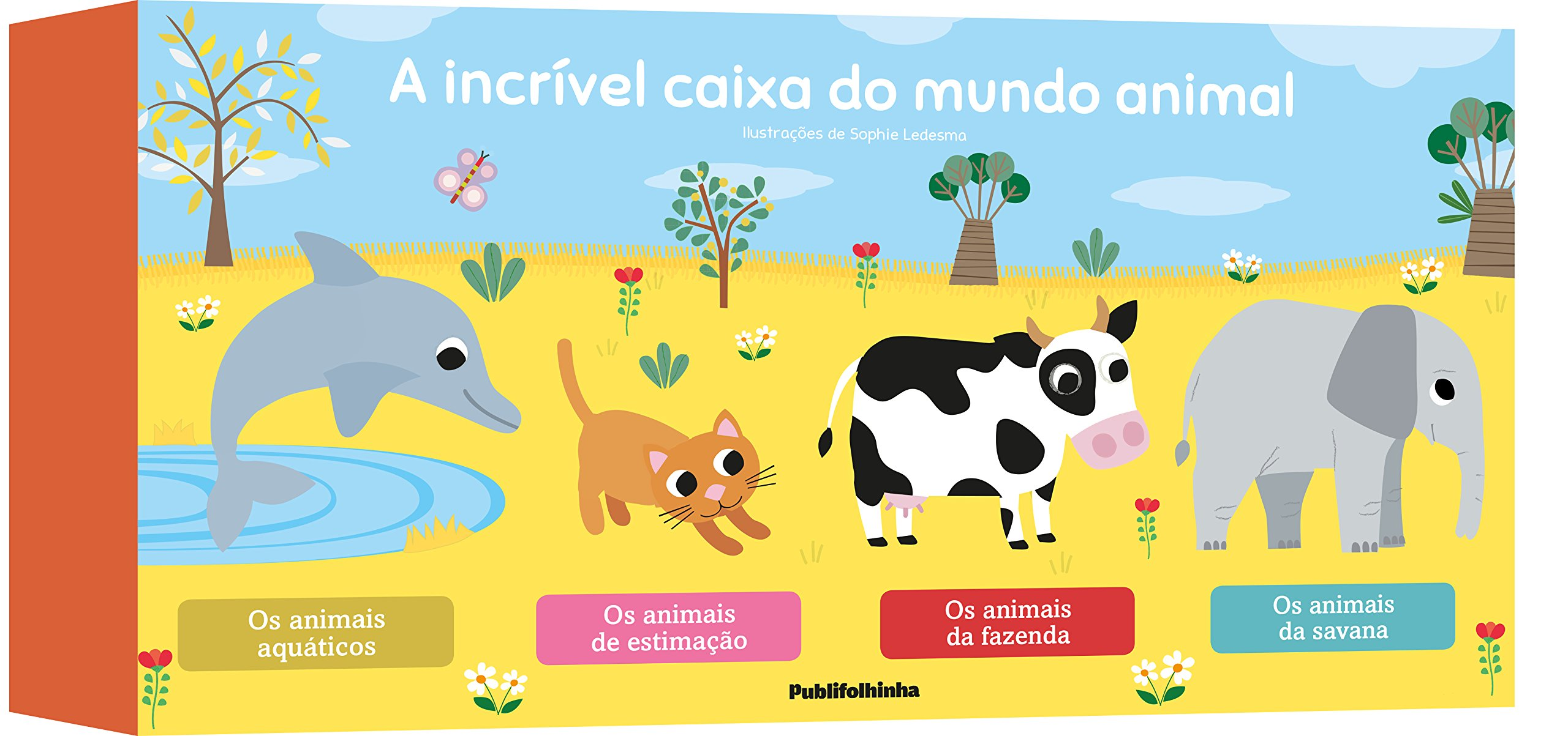 A Incrivel Caixa do Mundo Animal (Em Portugues do Brasil): Varios Autores: 9788569275442: Amazon.com: Books