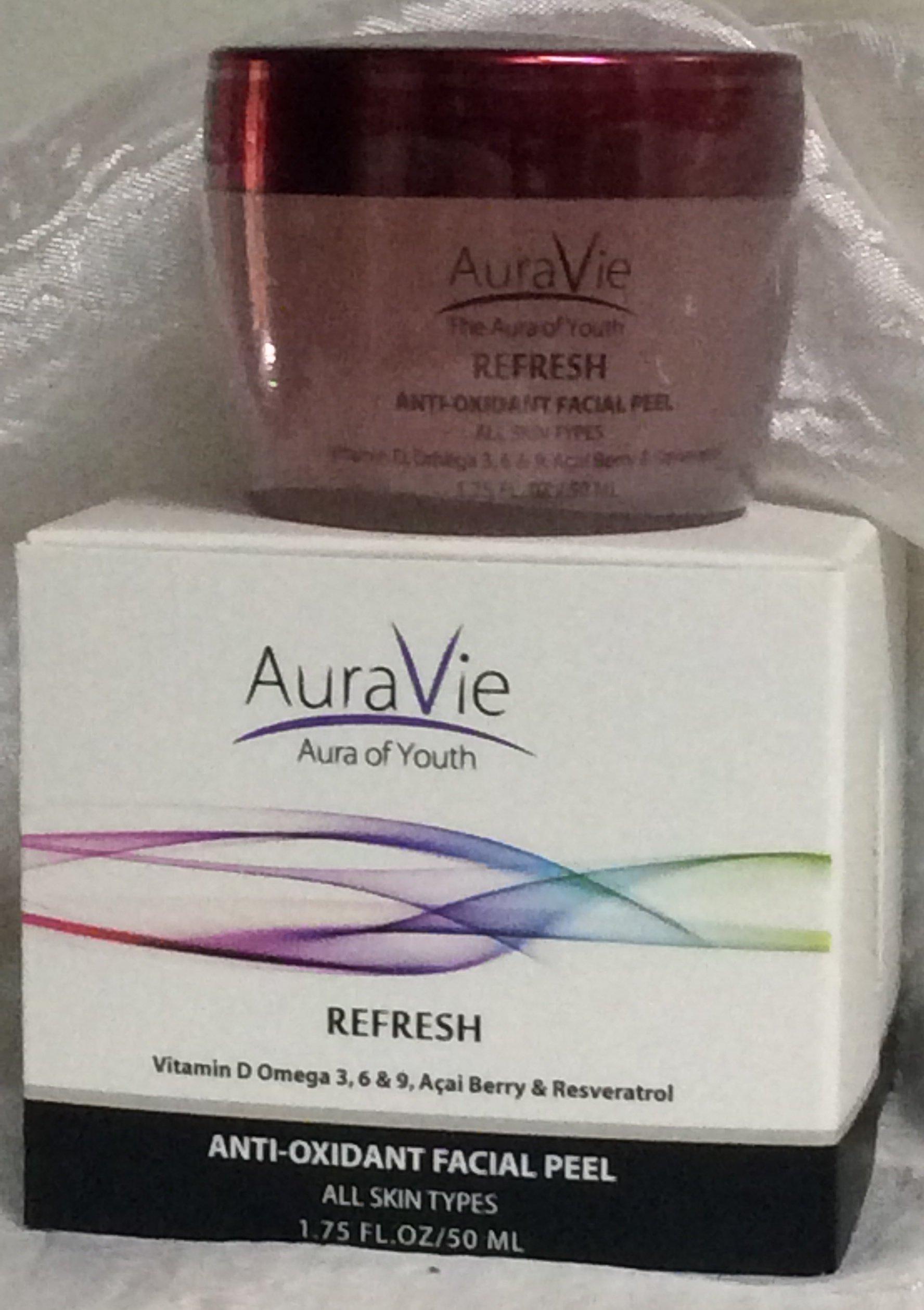 AuraVie REFRESH Facial Peel (1.75 FL. OZ/50ml)