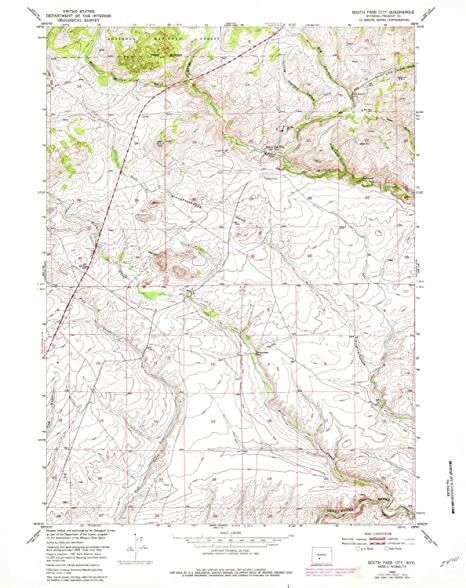 City Map Of Wyoming on